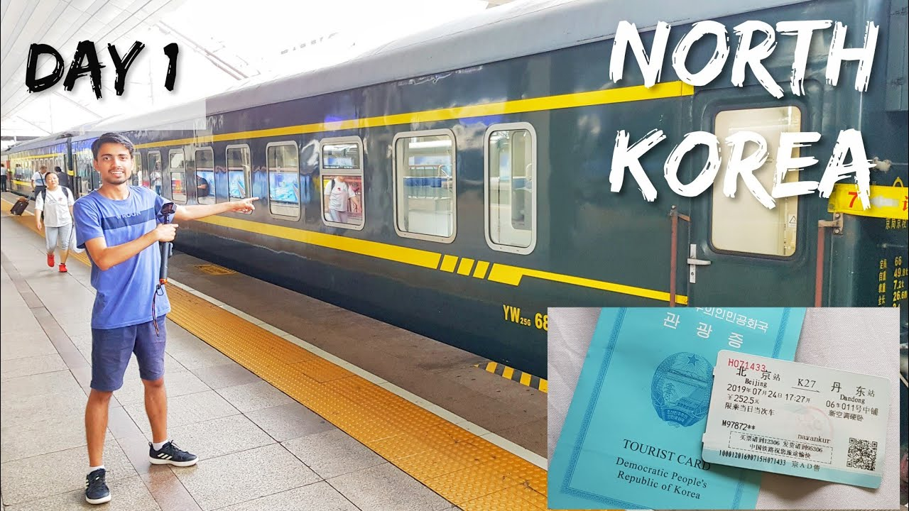 Train To North Korea Visa Train Tickets Youtube