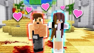 DETECTIVE IS TEAMING WITH THE MURDERER!! (Minecraft Murder Mystery) thumbnail