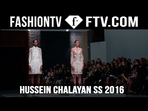 Hussein Chalayan's Spring Summer 2016 | FTV.com