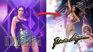 Dua Lipa's CRAZY Dance & Vocals Evolution - Before vs After
