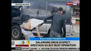 BT: 2 drug suspect, arestado sa buy-bust operation sa Malolos, Bulacan