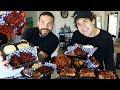 MEMPHIS STYLE BBQ MUKBANG with DAVID DOBRIK AND UGH IT'S JOE