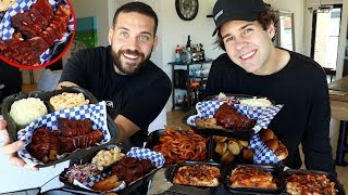 MEMPHIS STYLE BBQ MUKBANG with DAVID DOBRIK AND UGH IT'S JOE