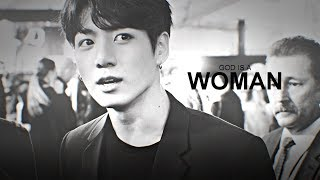 Download lagu JUNGKOOK  ─「GOD IS A WOMAN」