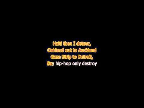 Lupe Fiasco - The show goes on - Karaoke