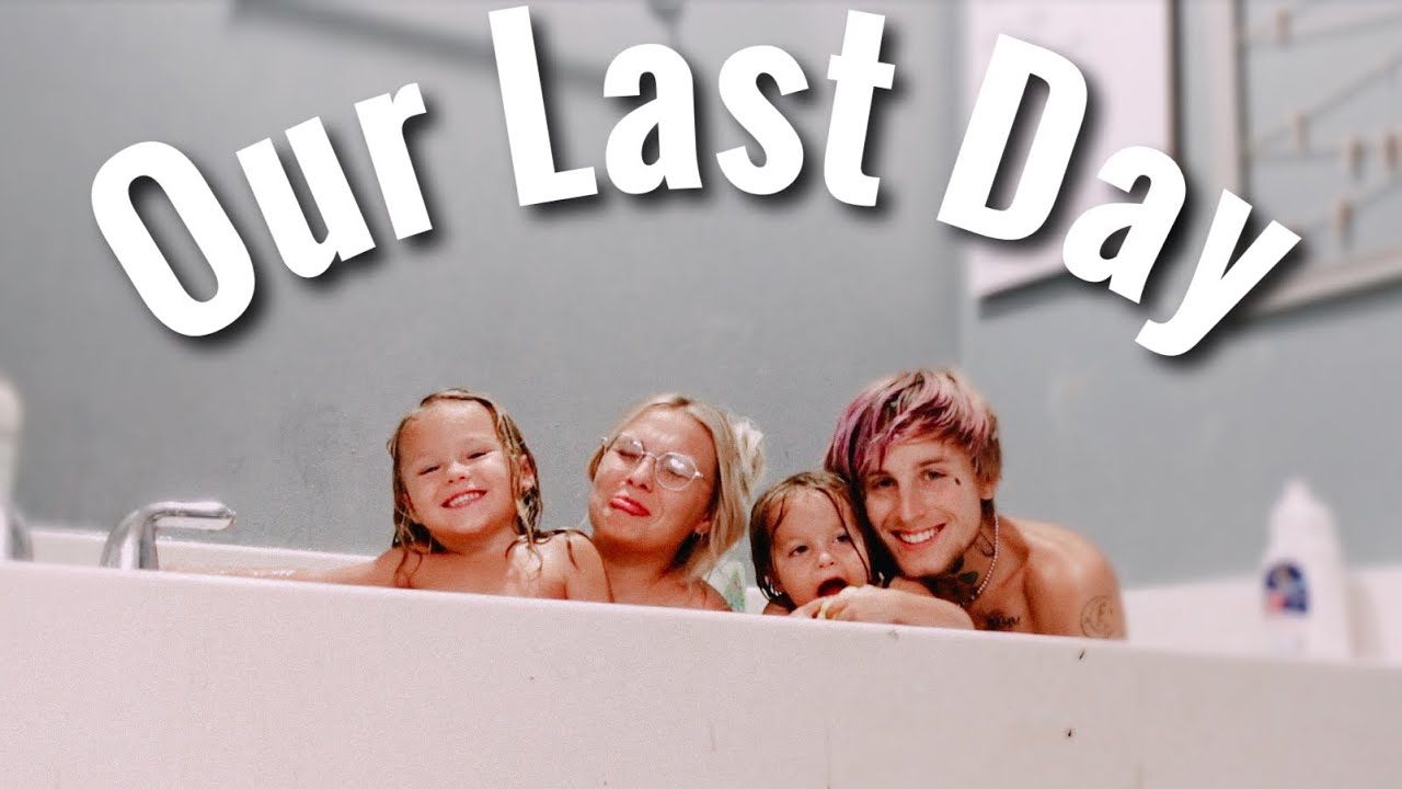 Our Last Day Living At Our House!