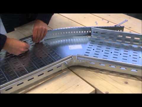 P31 kabelgoot - Hoekstuk instelbaar / Chemin de câbles P31 - Coude réglable