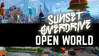 Sunset Overdrive - Grinding Through The Madness (Open World Gameplay)