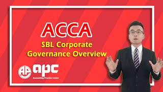 ACCA P1 Corporate Governance overview