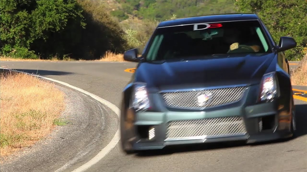 The 750 hp D3 Cadillac CTS-V -- /TUNED - YouTube