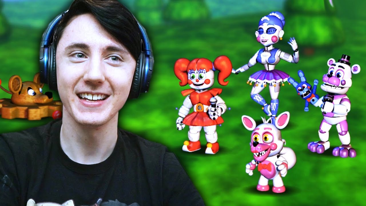 IF SISTER LOCATION WAS IN FNAF WORLD!