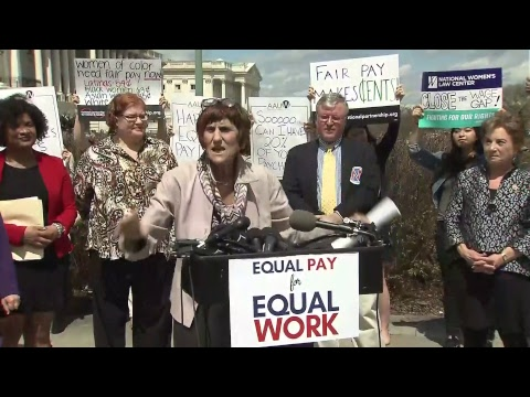 Sen Murray & Rep DeLauro Mark Equal Pay Day, Reintroduce Paycheck Fairness Act