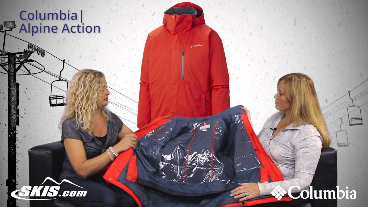 f767c2b05d 2016 Columbia Alpine Action Mens Jacket Overview by SkisDotCom - YouTube
