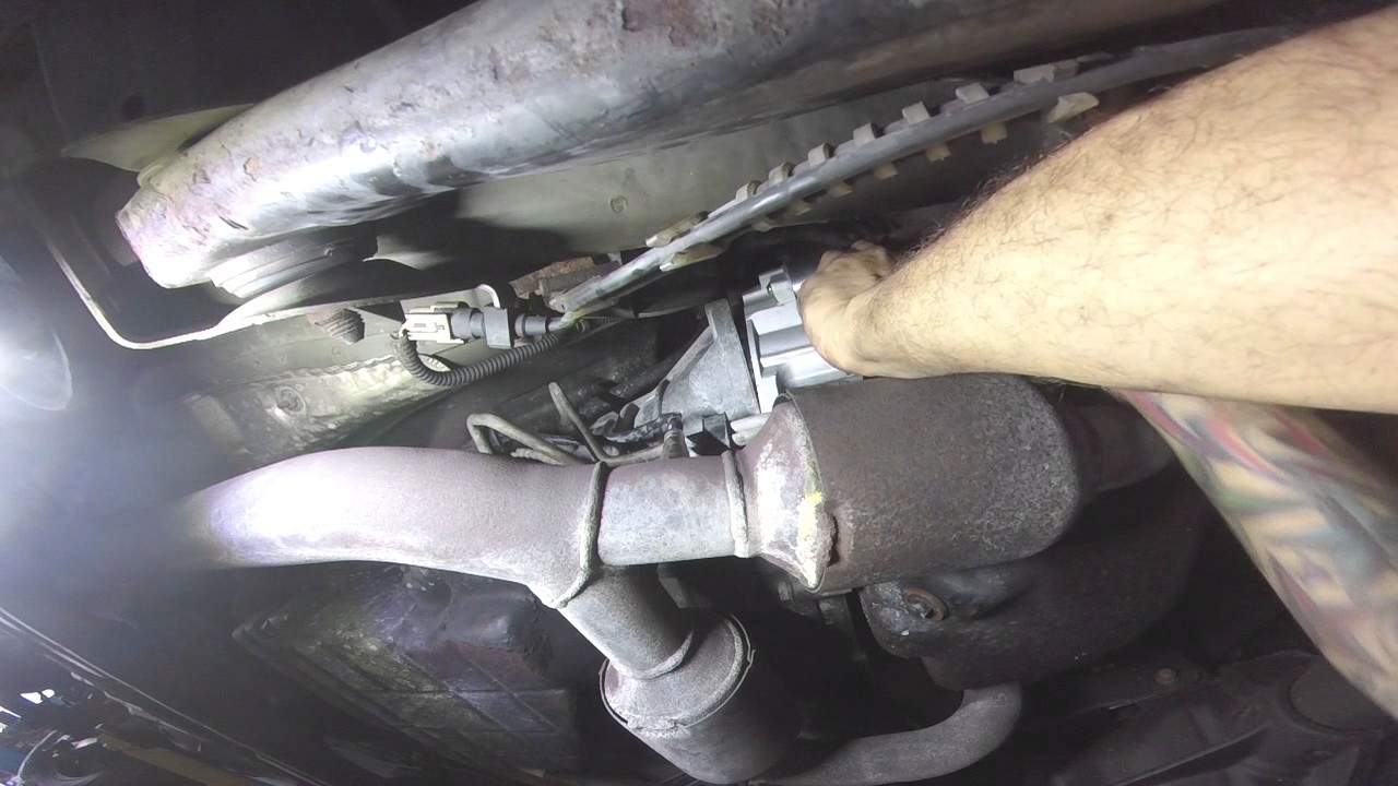 jeep grand cherokee starter replacement - YouTube