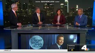 KNBC NBC 4 News at 11pm close May 22, 2018