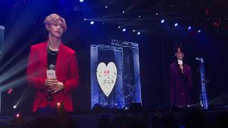 "[Fancam] MarkBam sing Thai song ""แอบเหงา"" #PROJECTBLUR 2018.02.10"