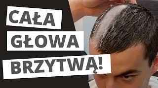 Sylwek - Golenie głowy brzytwą / Warsztat Fryzur Męskich Barbershop