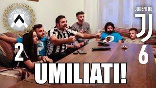 Udinese 2-6 Juventus | Reazione Con Fius Gamer, Ohm & Enry Lazza!!!  22/10/2017