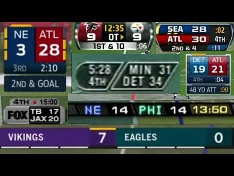 Evolution Of NFL Scoreboards | Part 1 - FOX