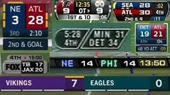 Evolution of NFL Scoreboards | Part 1 - FOX