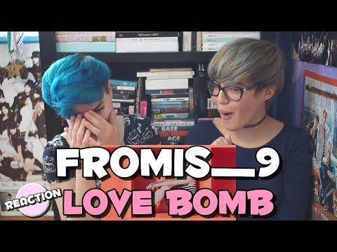 FROMIS_9 (프로미스나인) - LOVE BOMB ★ MV REACTION