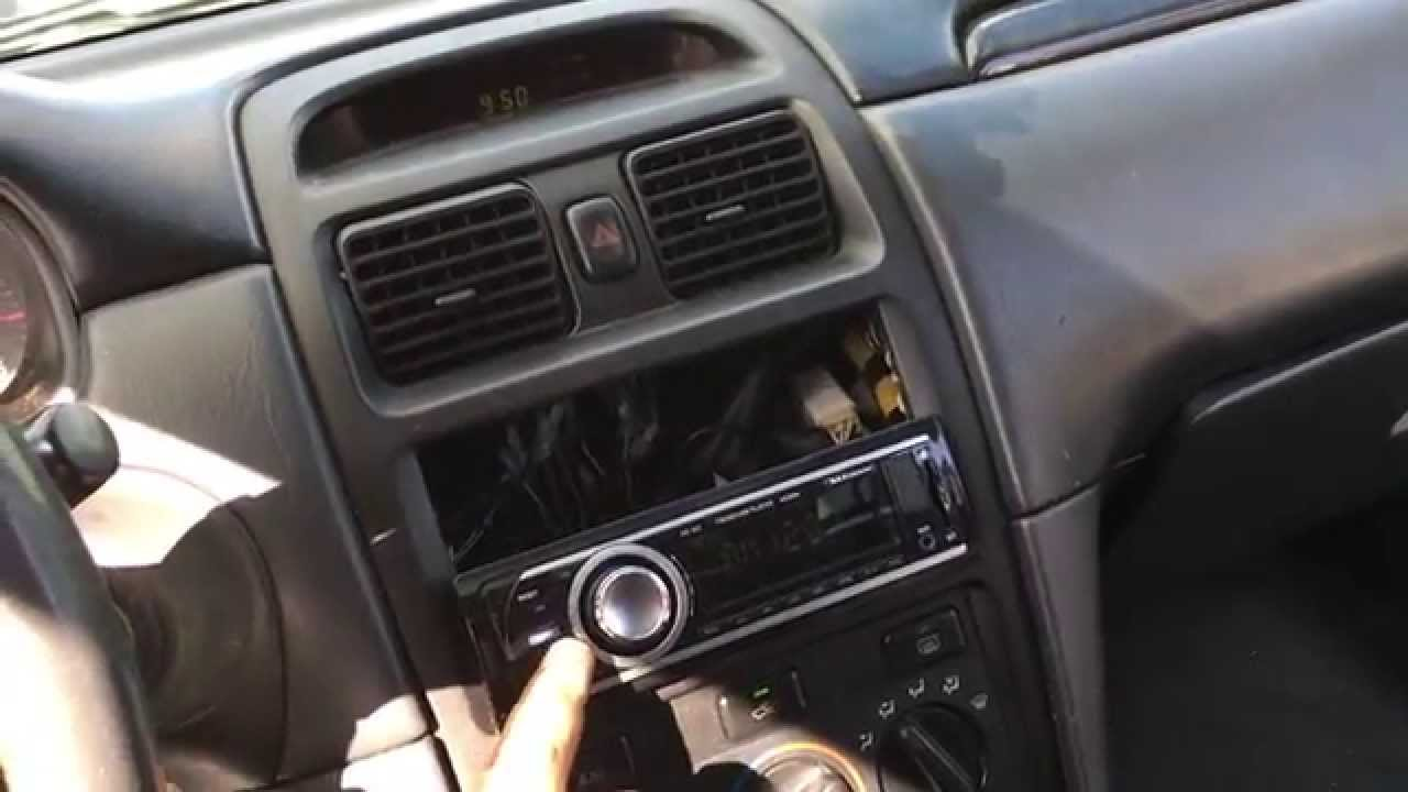 how to rewire stock amp speakers in a toyota salora stereo wire rh youtube com 2004 toyota solara stereo wiring diagram 2004 toyota solara stereo wiring diagram