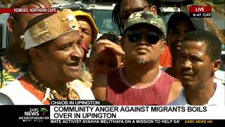 Chaos in Upington | Community anger against migrants boils over in Upington