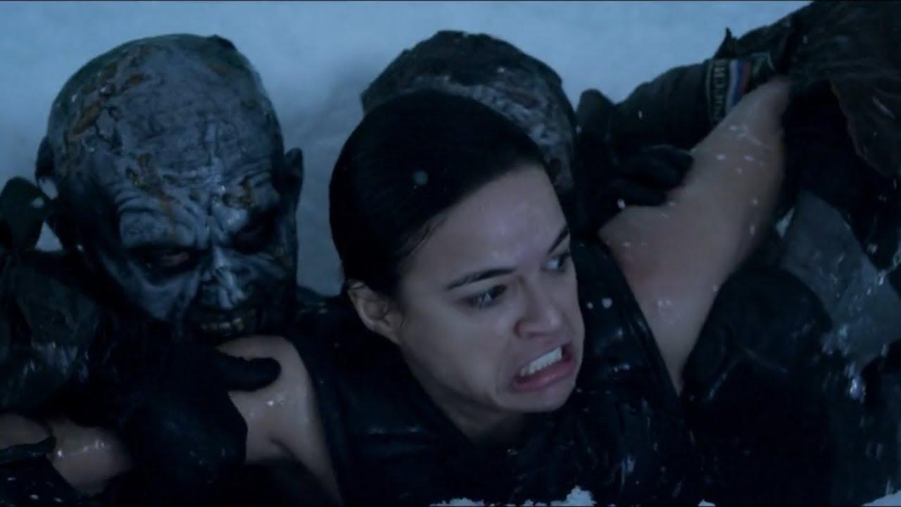 科幻片生化危机5_9分钟看完科幻恐怖片《生化危机5》,这次BOSS死得是真够惨烈的 ...