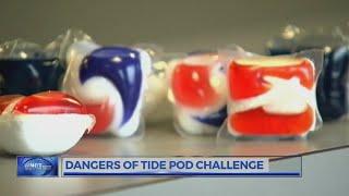 """Doctors, schools warn of """"Tide Pod Challenge"""" dangers"""