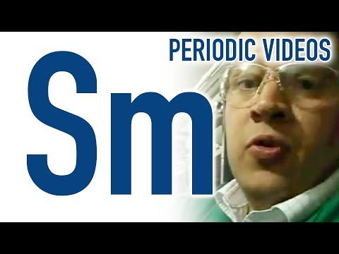 Video image: Samarium - Periodic Table of Videos