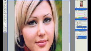 Обработка лица в фотошопе