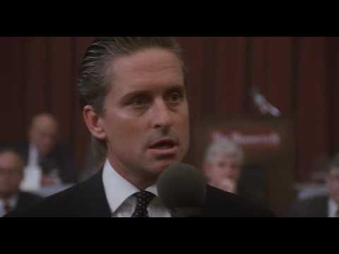 Wall Street (1987) - speech