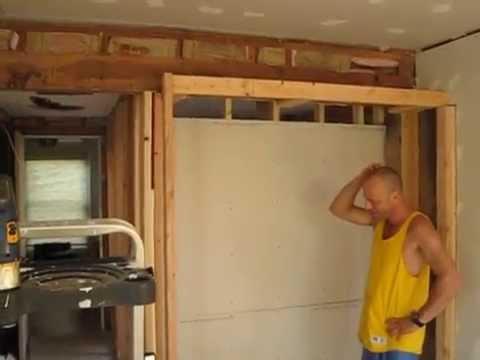 Bathroom & Closet Remodel Framing - YouTube