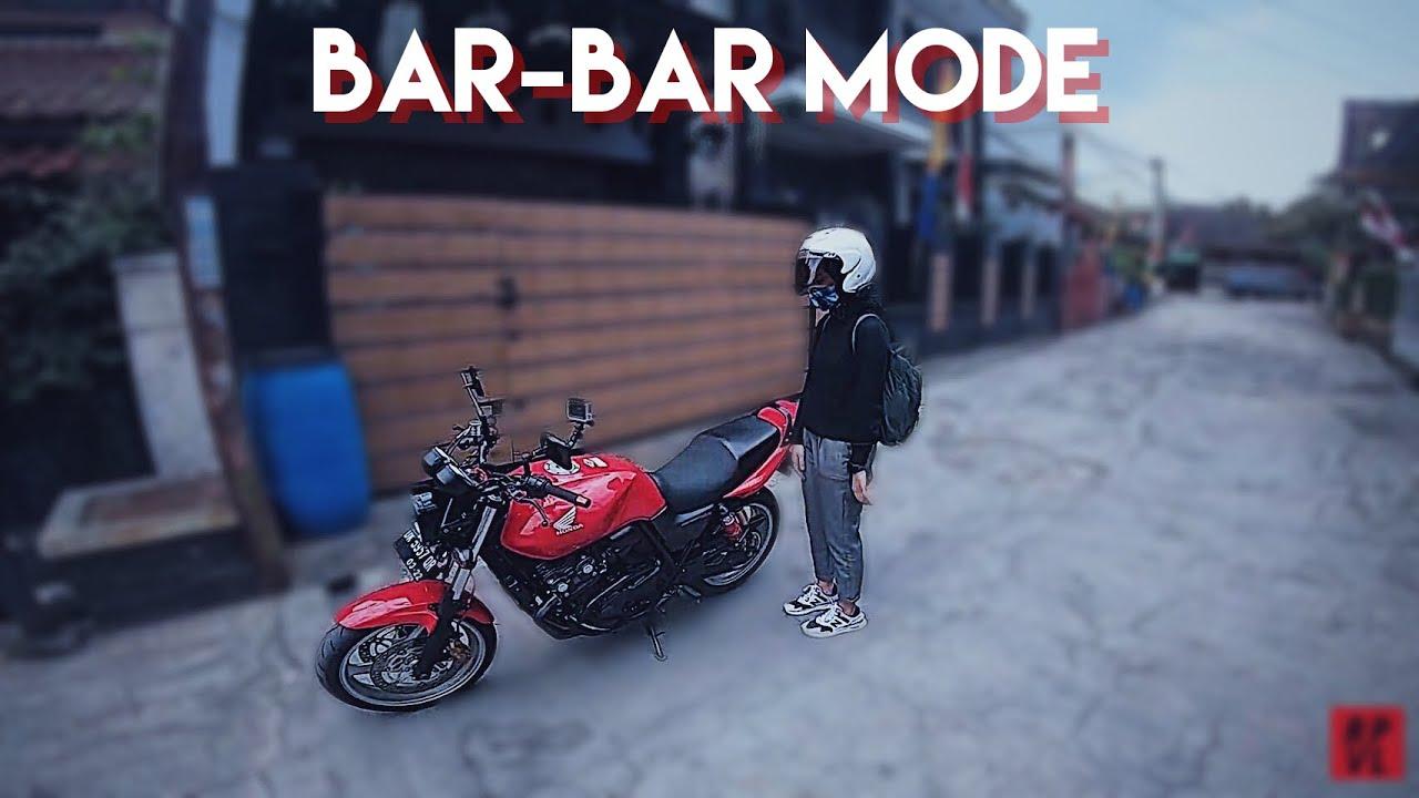RIDING SORE BARBAR & GINI NIH KALAU MOTOR PAKE VTEC // CB 400 HYPER VTEC #Ripvmovlog