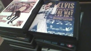 For Travis Robinson My Elvis dvd collection
