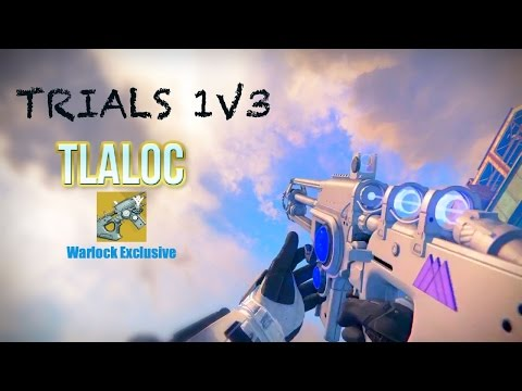 Trials 1v3 with TLALOC!!! (Almost Pulled a Golden State) | Destiny