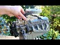 Ford Mustang V8 K-Code 289 Engine Model Build - Stop Motion