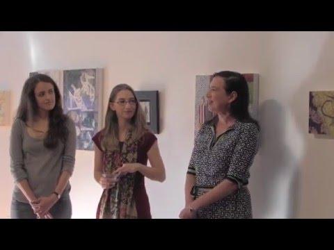 Cerulean Arts Gallery, Artist Talk November 8, 2015