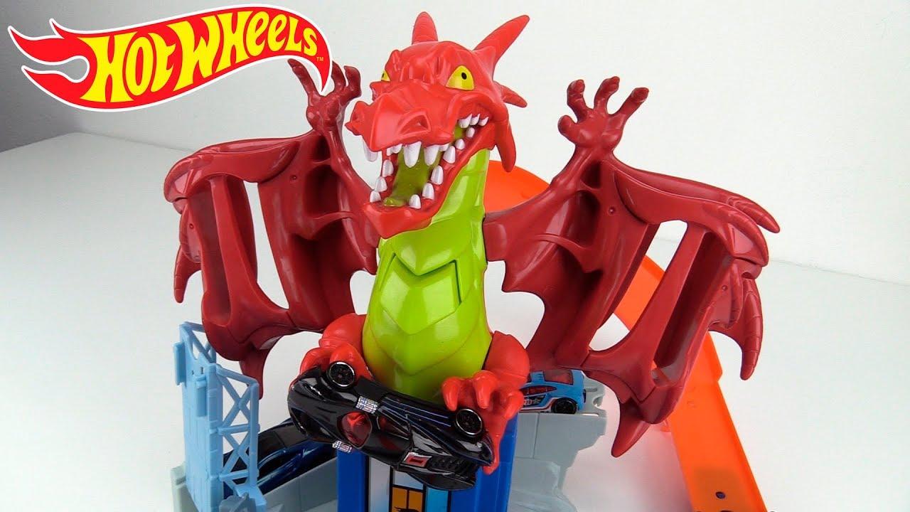 Hot Wheels Pista Dragon Explosivo Dragon Blast Unboxing Review