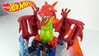HOT WHEELS PISTA DRAGON EXPLOSIVO DRAGON BLAST UNBOXING & REVIEW Video
