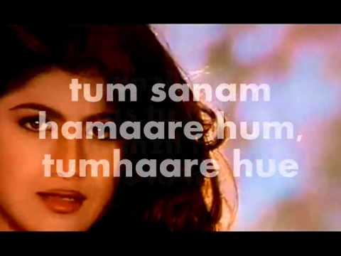 Churake Dil Mera-Karaoke & Lyrics-Main Khiladi Tu Anari (1994)