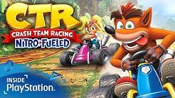 Crash Team Racing Nitro-Fueled angezockt! PS4 Pro Gameplay