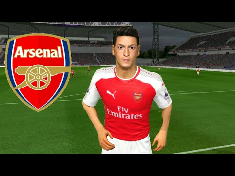 How To Create Arsenal Team ★ Kits Logo & Players ★ Dream League Soccer 2018 - 동영상