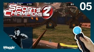 Sports Champions 2 PS Move Walkthrough - Part 5/6 [Archery - Gold Difficulty]