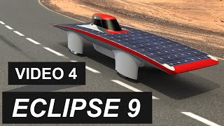 Eclipse 9 ETS - Véhicule solaire / Solar Car - Video 4