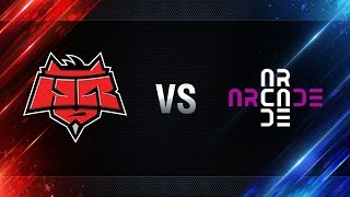 HellRaisers vs Arcade eSports - day 2 week 5 Season I Gold Series WGL RU 2016/17