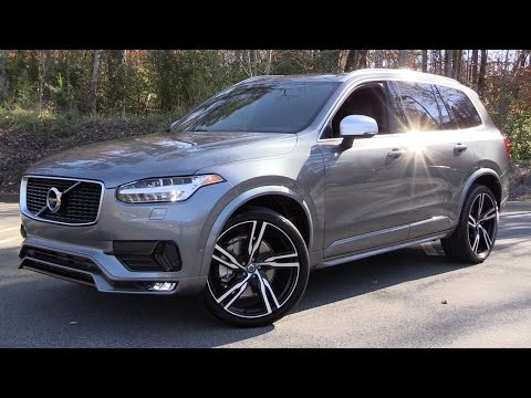 2016 Volvo XC90 T6 R-Design Start Up, Test Drive, and In Depth Review