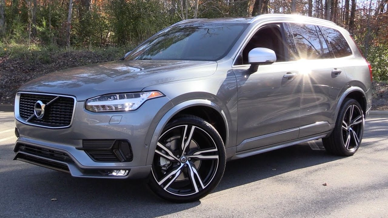 2016 Volvo XC90 T6 R-Design Start Up, Test Drive, and In Depth ...