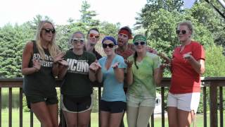 What Makes You Beautiful - One Direction - 1D - Parody - BRDC 2012 - Camp America - Summer