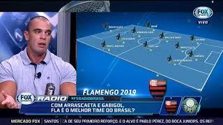 Fox Sports: Quem tem mais time Palmeiras ou Flamengo? #DebateFox